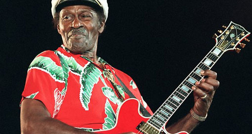 Chuck Berry South America