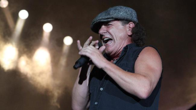 Brian Johnson - Black Ice Tour