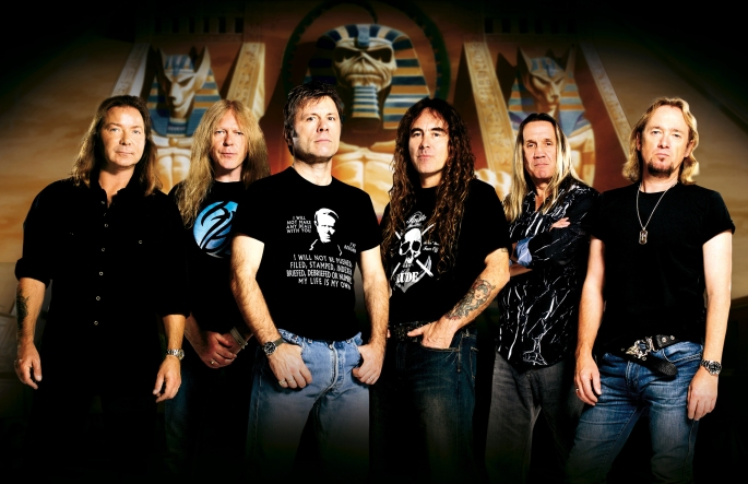 Iron Maiden Band Shot