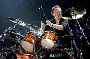 Lars Ulrich Live Shot