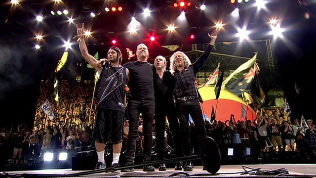 Metallica Glastonbury Header Image