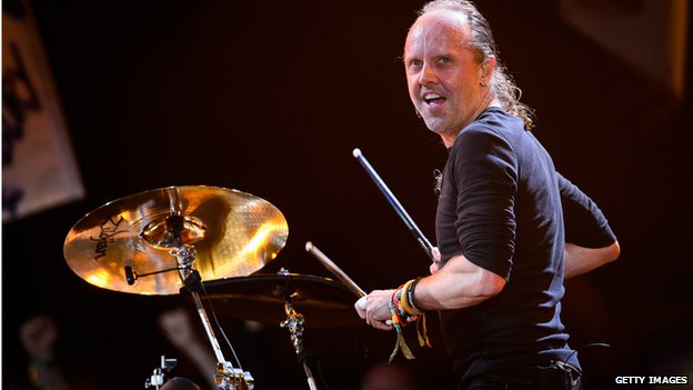 Metallica Glastonbury Lars Ulrich