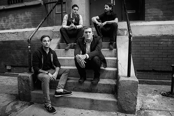 Gaslight Anthem Band Shot