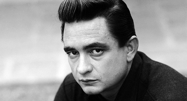 Johnny Cash Head Shot
