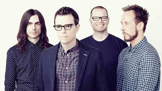 Weezer Band Shot 2014