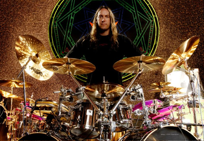 Danny Carey Drum Kit Shot