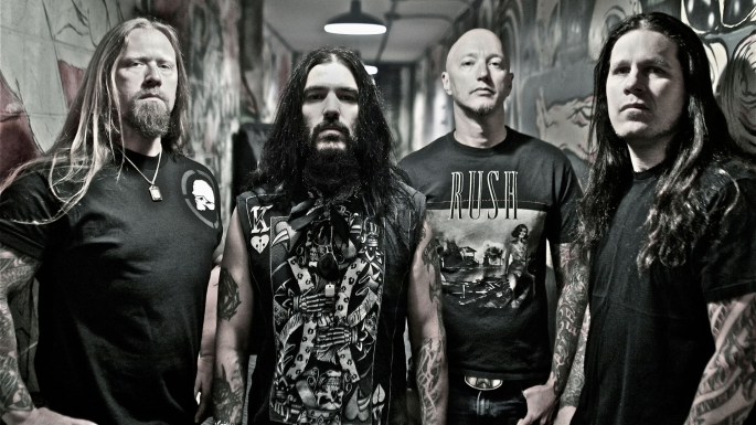 Machine Head Band Shot