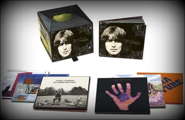 George Harrison Album Box Set-001