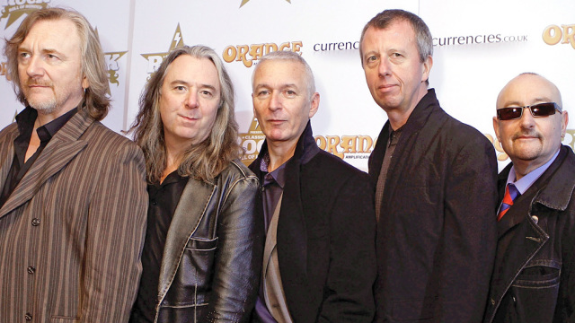 Classic Rock Roll Of Honour - Arrivals