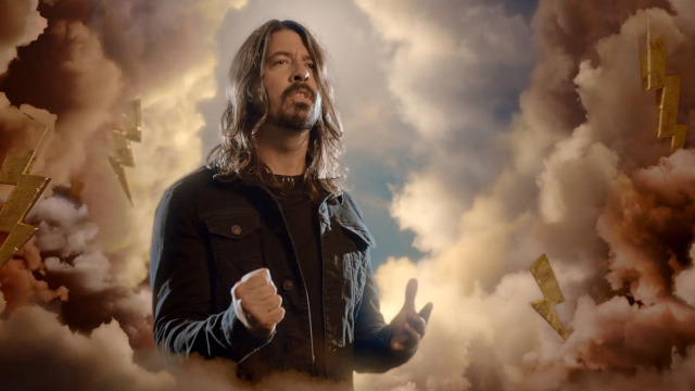 Dave Grohl BBC God Only Knows