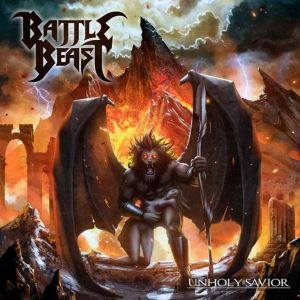 Battle Beast Unholy Savior Cover
