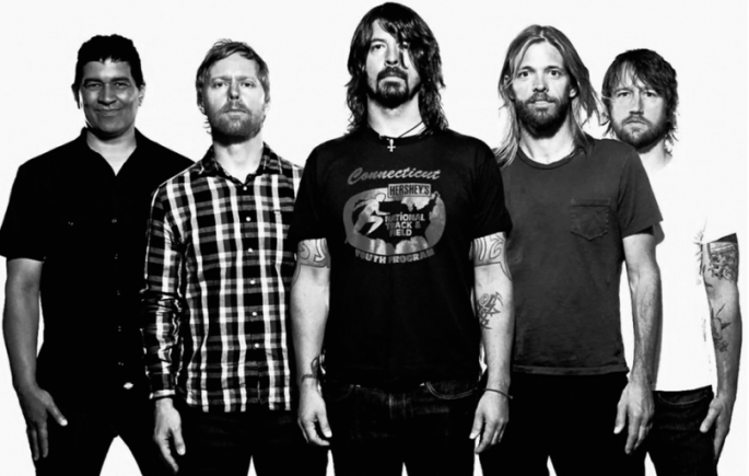 Foo Fighters Band Shot
