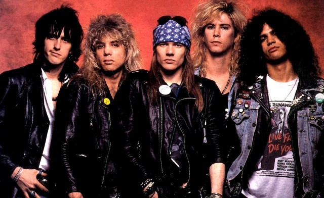 Guns N Roses - AFD Band Shot