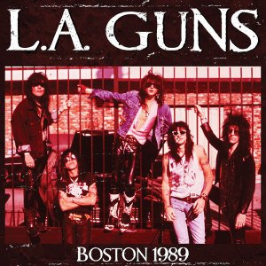 LA Guns Boston 1989 Cover