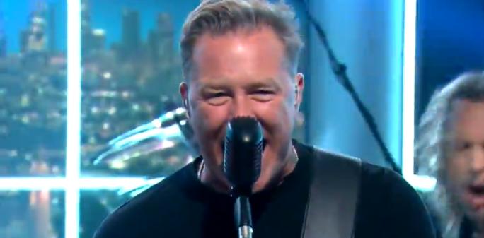 Metallica Craig Ferguson Crop