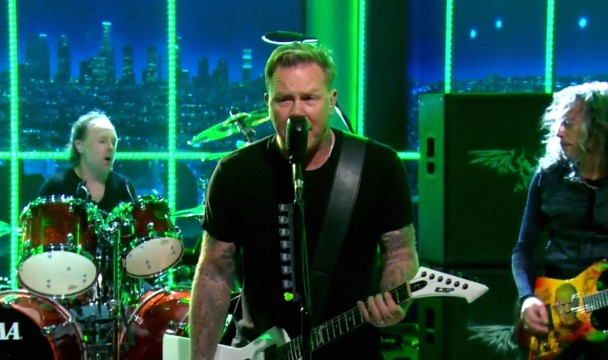 Metallica on Craig Ferguson - Night 3