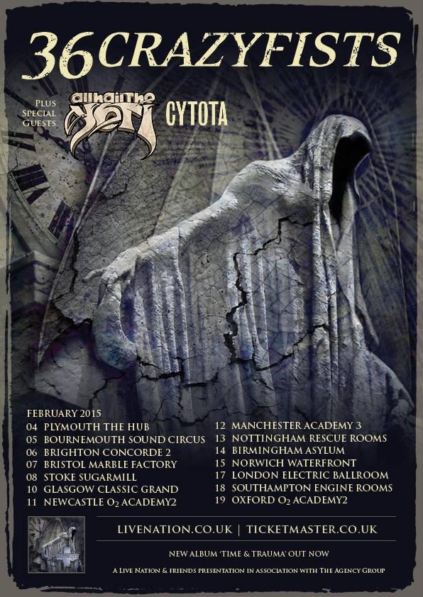 2015 Cytota Tour Poster