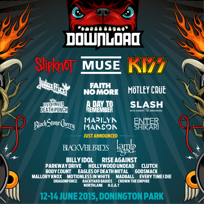 Download 2015 - Line Up - 15Dec14