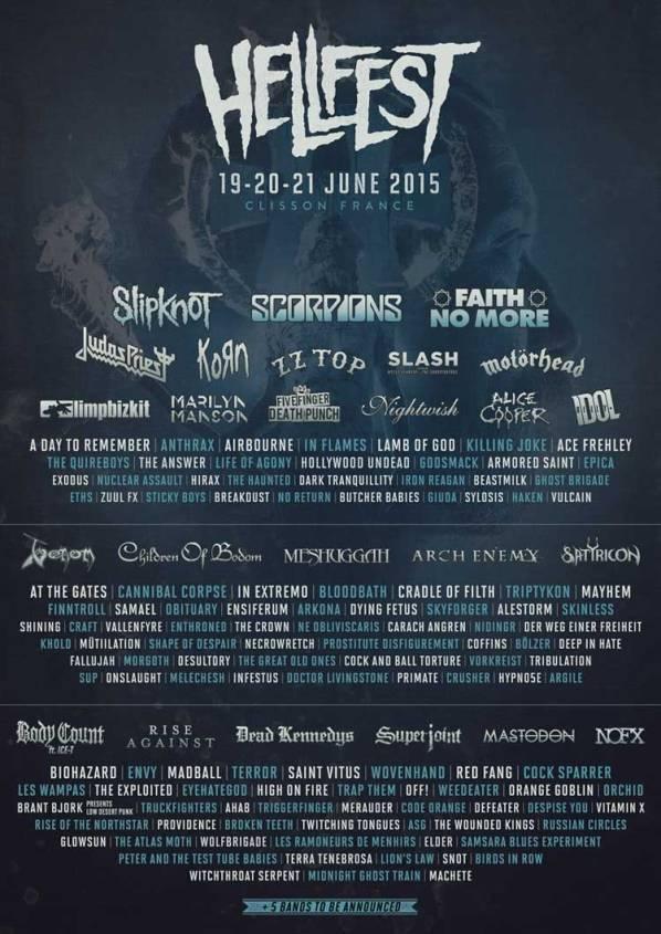Hellfest 2015 Poster 10Dec14