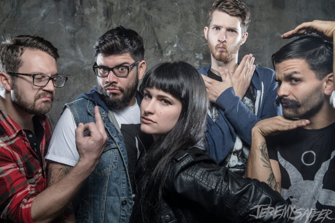 Iwrestledabearonce Band Shot 2014 - Jeremy Saffer