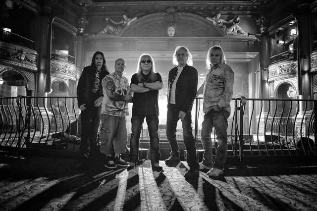 Uriah Heep band shot