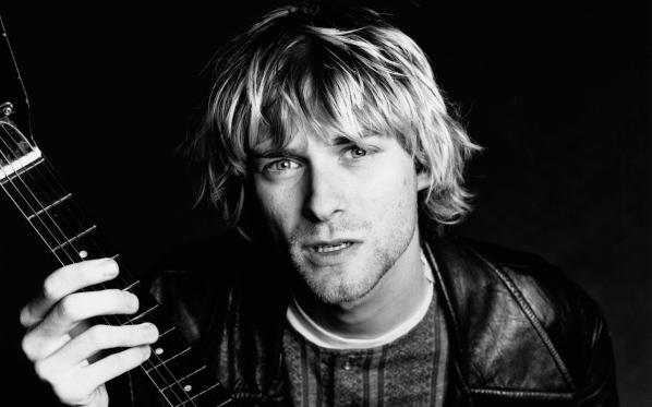 Kurt Cobain - Nirvana - Wallpaper image