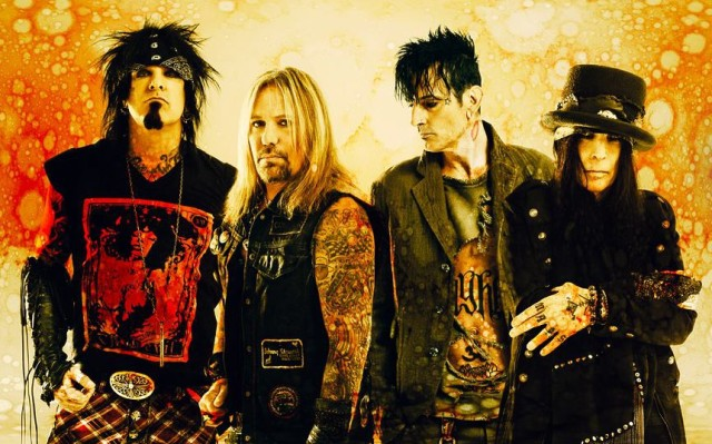 Motley Crue Band Shot
