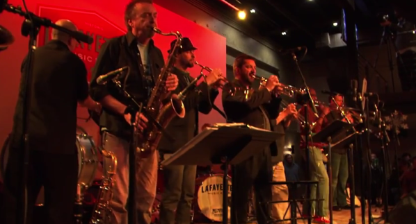 The Mighty Souls Brass Band vid cap