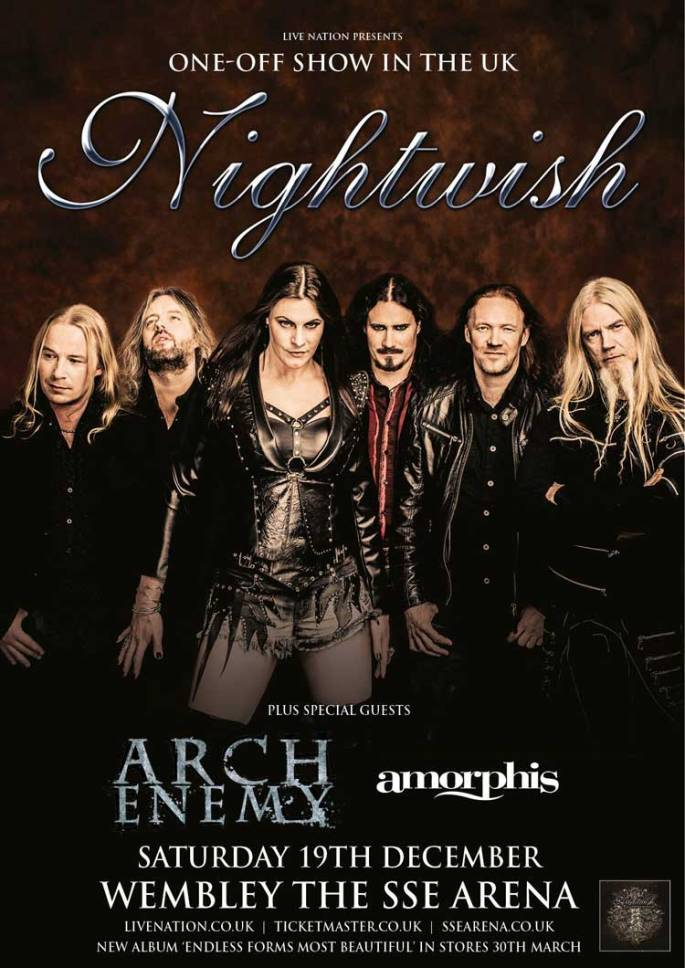 Nightwish Wembley Poster