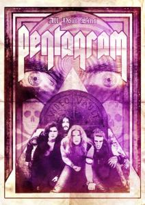 Pentagram All Your Sins DVD cover