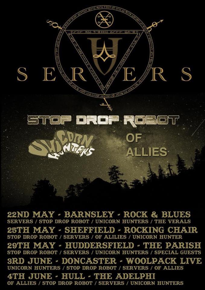 Servers 2015 Tour Poster