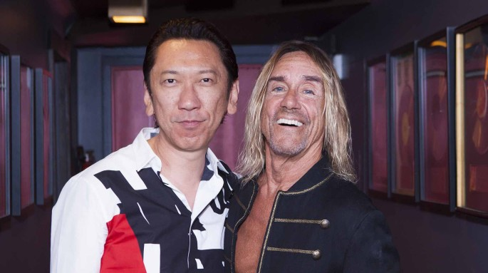Iggy Pop and Hotei