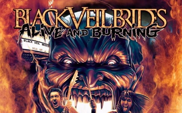 Black Veil Brides DVD cover crop