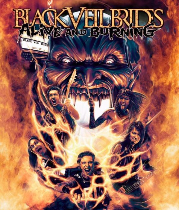 Black Veil Brides DVD cover