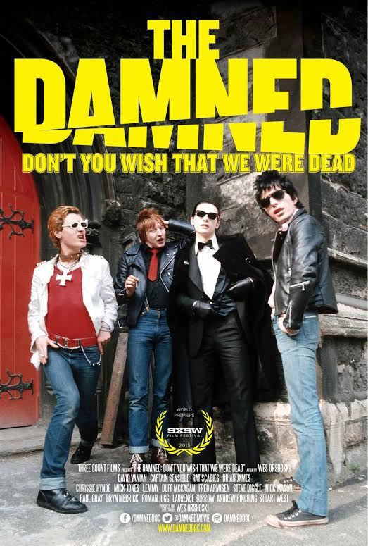 The Damned documentary poster