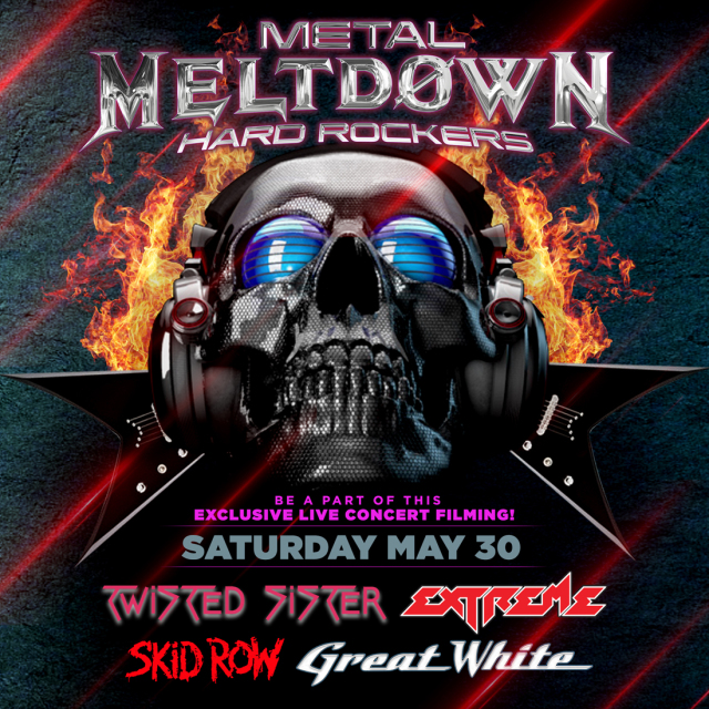 Vegas Metal Metldown poster