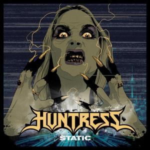 Huntress - Static - Album cover