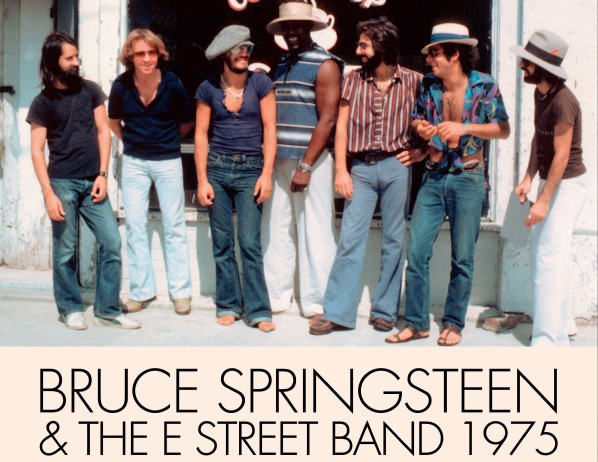 Bruce Springsteen 1975 book cover