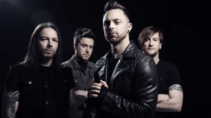 Bullet For My Valentine promo 2015