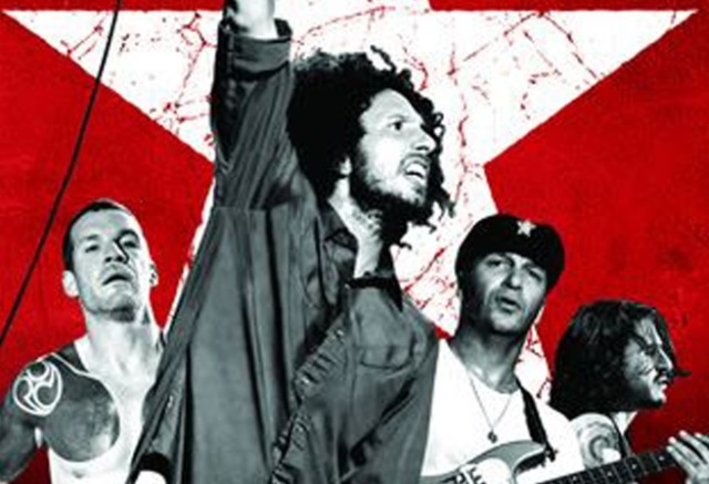 Rage Against The Machine Finsbury DVD cover crop