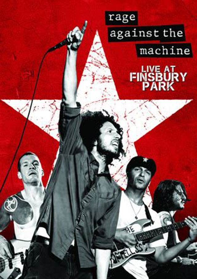 Rage Against The Machine Finsbury DVD cover