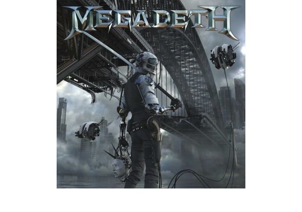 Megadeth Dystopia cover