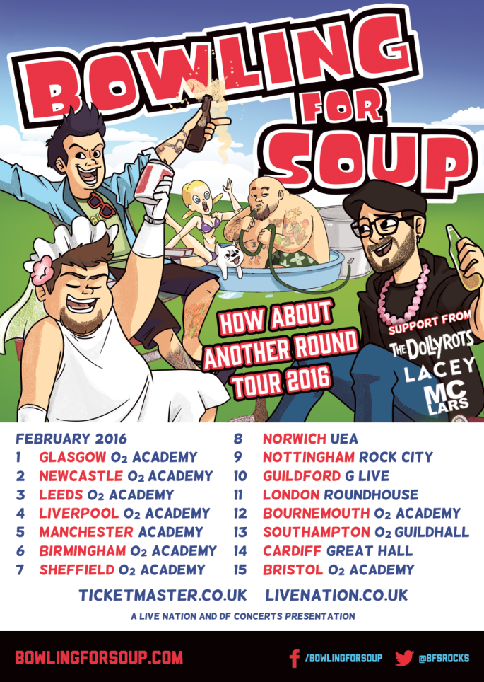Dollyrots tour poster