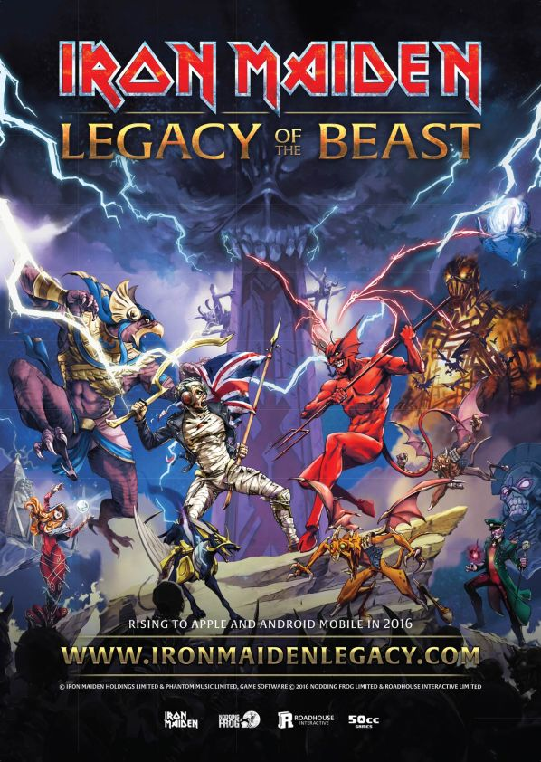 Iron Maiden Legacy Of The Beast poster