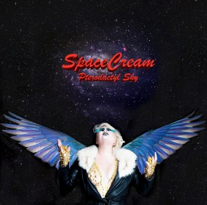 SpaceCream - Pterodactyl Sky - Front cover