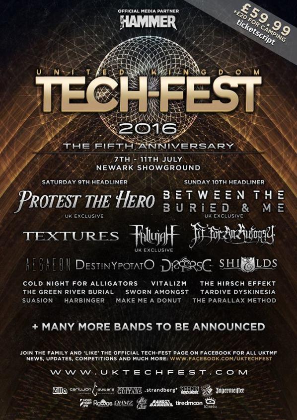 Tech Fest Line Up 2016