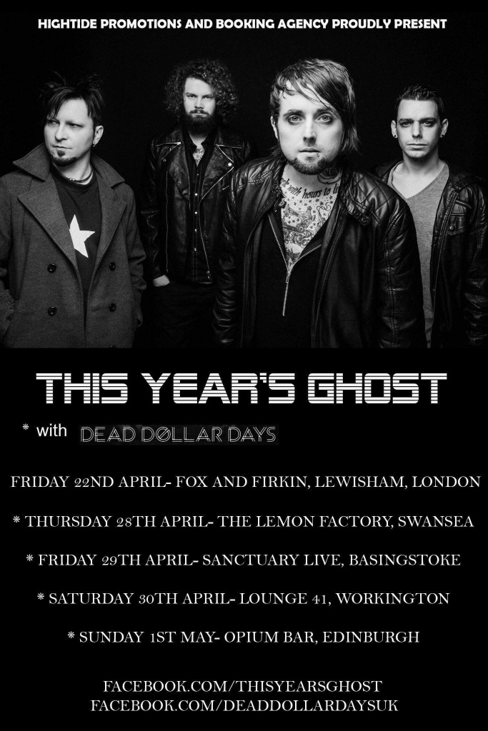 This Year's Ghost tour poster 2016