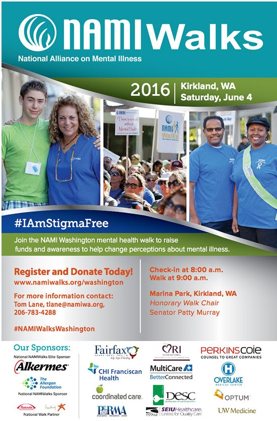 NAMIWalks 2016 poster