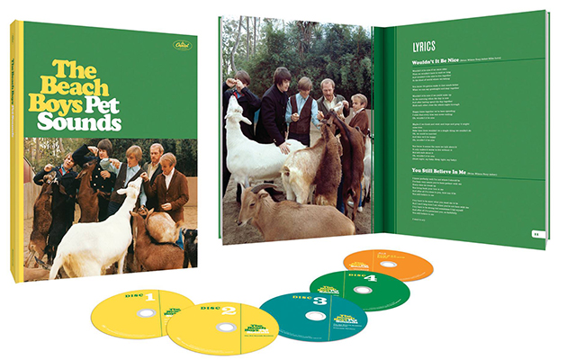 Pet Sounds 50th Anniversary Pack Shot