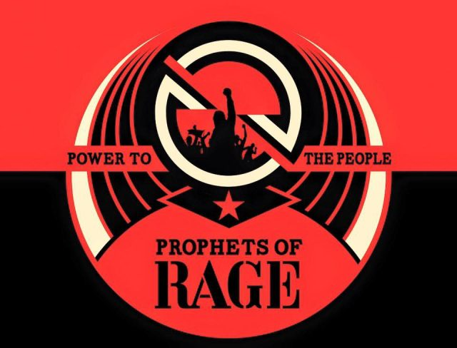 Prophets Of Rage tour banner